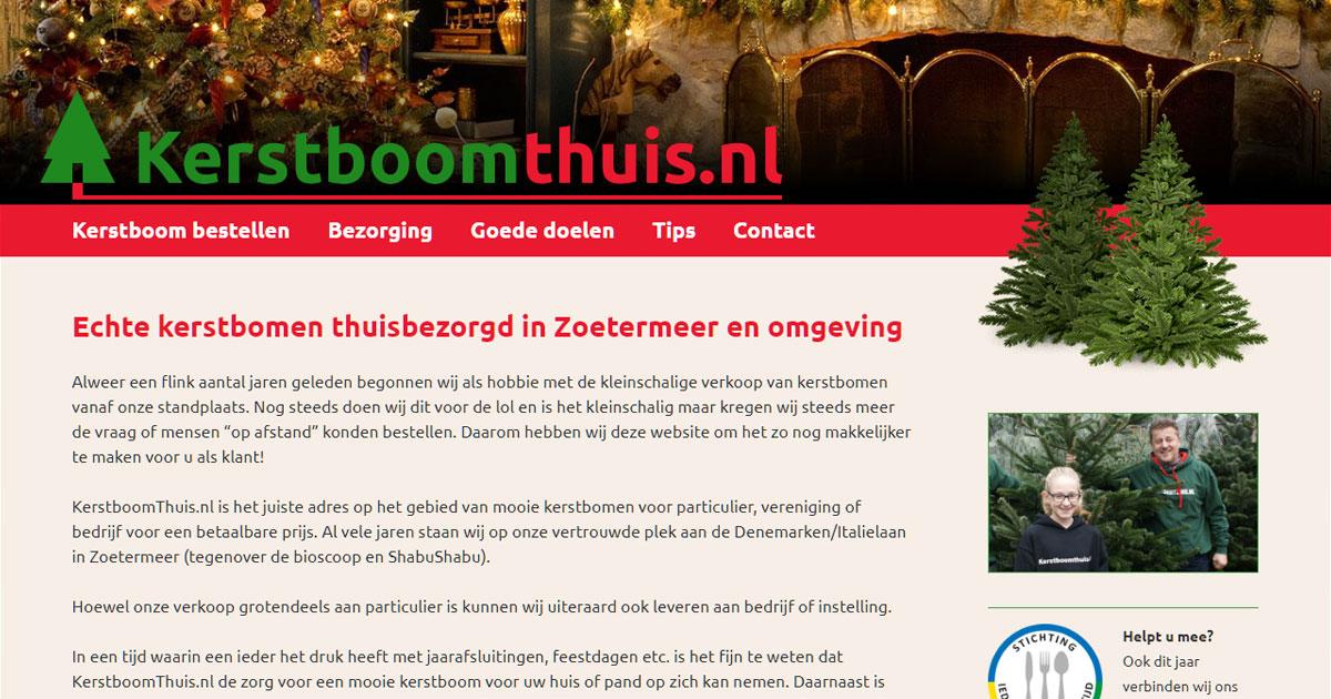 Echte Kerstboom Kopen Kerstboomthuis Nl