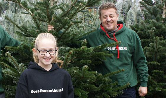 Echte Kerstboom Thuisbezorgd Regio Zoetermeer Kerstboomthuis Nl